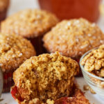 Honey Cornbread Muffins with Fennel Seeds and Walnuts (Makki Muffins)