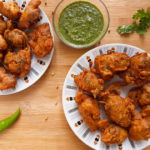 Pakistani Pakora (Potato Fritters, Pakistani Style) | Becky Keeps House This Pakistani pakora recipe makes crunchy, spicy, buttery delicious pakoras (potato fritters). The best you've ever eaten, guaranteed!