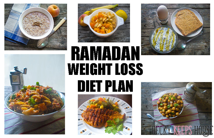 Ramadan weight loss diet plan becky keeps house forumfinder Choice Image