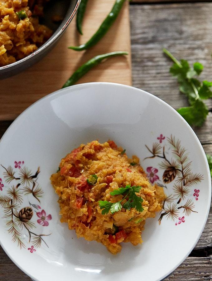 Turnip Curry (Shalgam ki Bhujia)